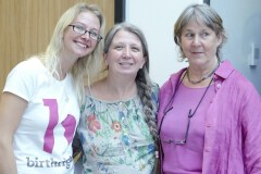 Gill Boden (AIMS) and Johanna Rhys Davies (Birthrights)