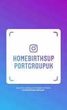 Join the Home Birth Support Group On Instagram