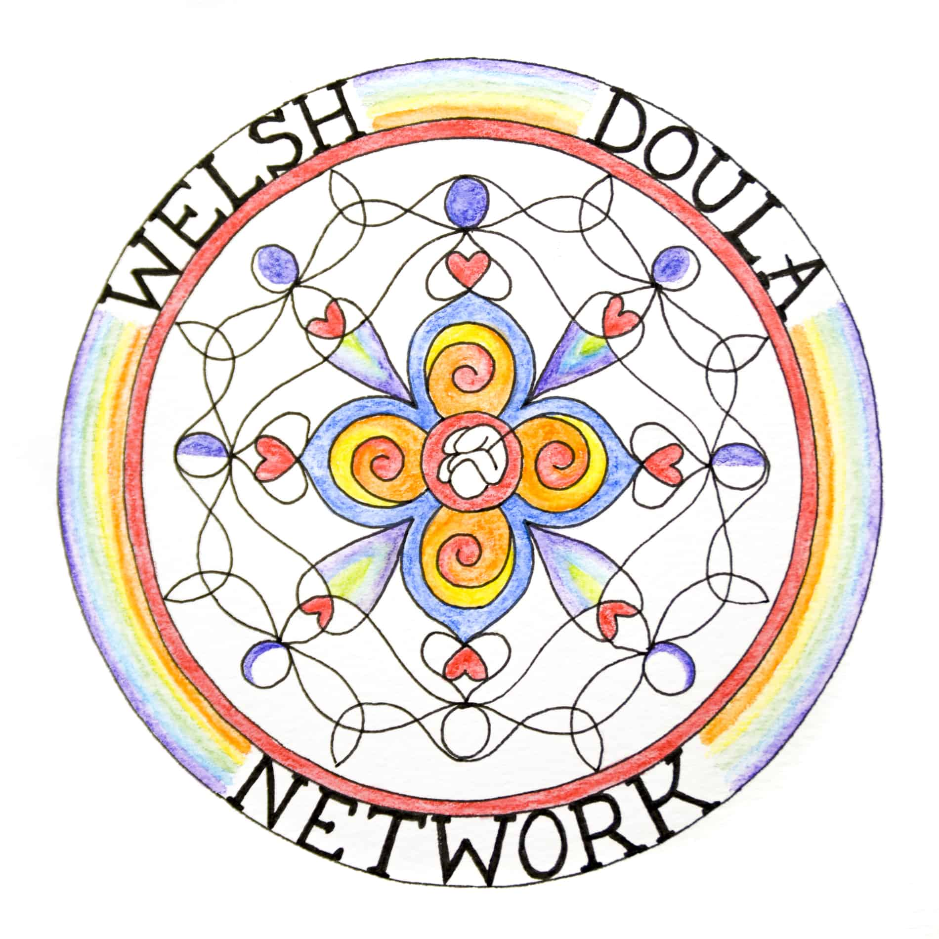 welsh doula network square logo