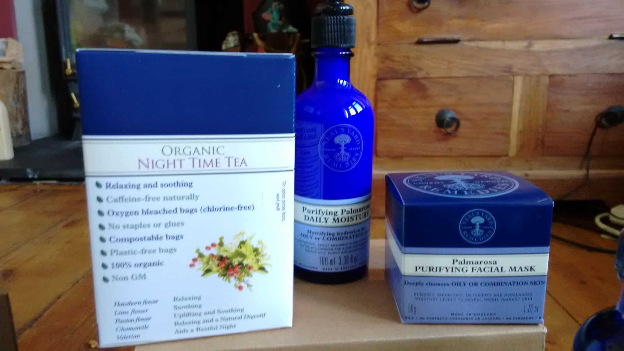 Palmarosa and Tea