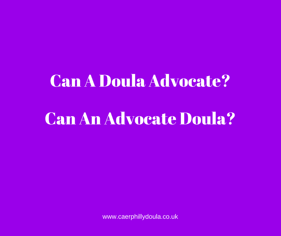 Can A Doula Advocate