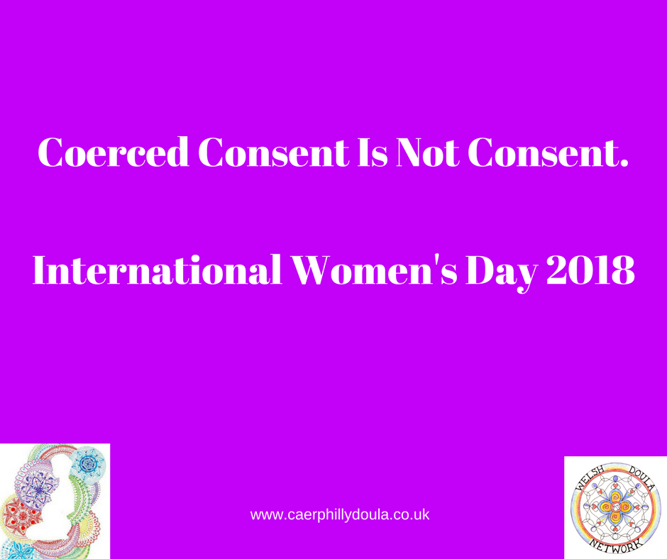 Coerced Consent Is Not Consent.